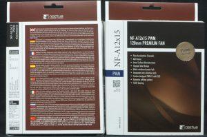 Twin Boxes - Noctua NF-A12x15