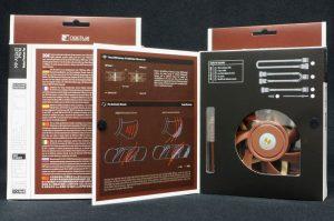 Twin Boxes - Open - Noctua NF-A12x15