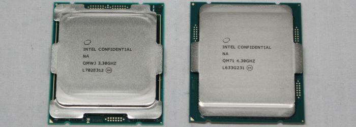 Intel Skylake-X (i9 7900X) and Kaby Lake-X (i7 7740K) CPU Review