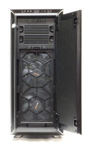 Front Door Opened -- Dark Base 900 Pro