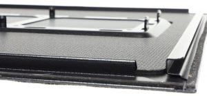 Front End of Metal Side Panel -- Dark Base 900 Pro