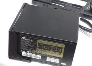 PSU in PSU Holder -- Dark Base 900 Pro