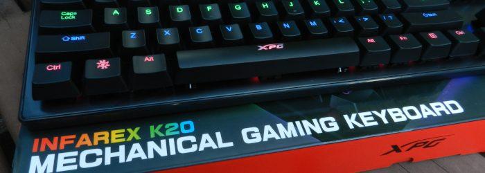 ADATA XPG INFAREX K20 Mechanical Gaming Keyboard Review