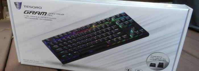 Tesoro Gram Spectrum TKL Mechanical Keyboard Review