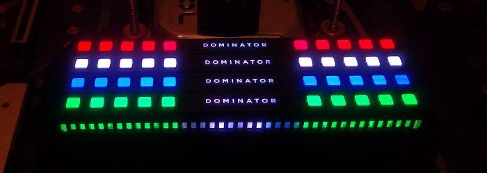 Corsair Dominator Platinum RGB DDR4 3200 Memory Review