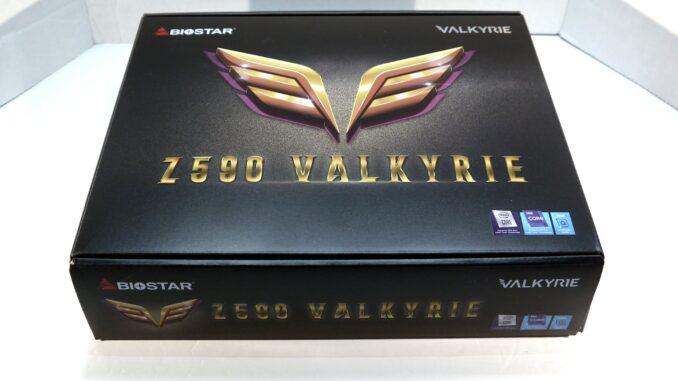 BIOSTAR Z590 VALKYRIE Motherboard Packaging