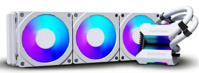 Phanteks Announces White Glacier One 360MPH AIO CPU Cooler