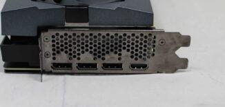 IO - 3x DisplayPorts, 1x HDMI