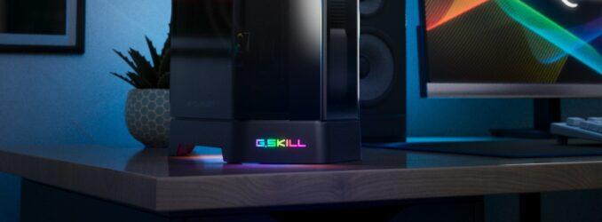 G.Skill Announces Z5i Mini-ITX Pentagonal SFF Chassis
