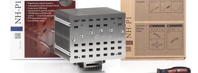 Noctua releases NH-P1 Passive CPU Cooler and A12x25 LS-PWM 120mm Fan