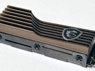 MSI Spatium M480 M.2 NVMe Gen4x4 SSD