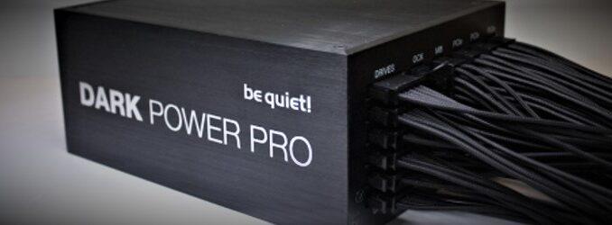 be quiet! Power supply
