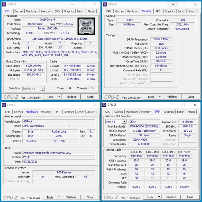 XPG SPECTRIX D45G - CPUz - 5333c22