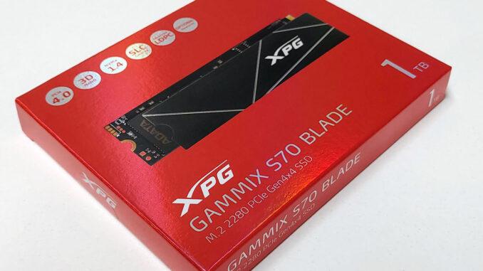 XPG Gammix S70 Blade Feature